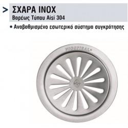 ΣΧΑΡΕΣ INOX Φ125
