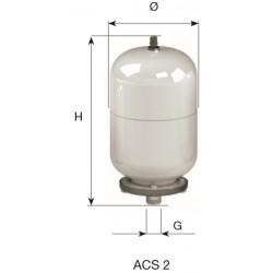 CIMM-ACS  2 lit. BOILER ΛΕΥΚΟ/ΧΡΩΜΕ