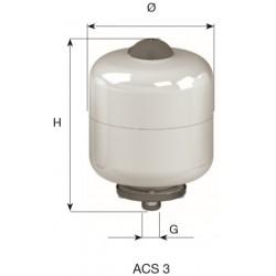 CIMM-ACS  3 lit. BOILER ΛΕΥΚΟ/ΧΡΩΜΕ