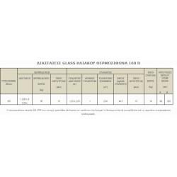GLASS ΗΛΙΑΚΟΣ ΘΕΡΜΟΣΙΦΩΝΑΣ ΔΙΠΛΗΣ ΕΝΕΡΓΕΙΑΣ 160 lt.SONNE με ΣΥΛΛΕΚΤΗ PHAETHON 2.4 m2