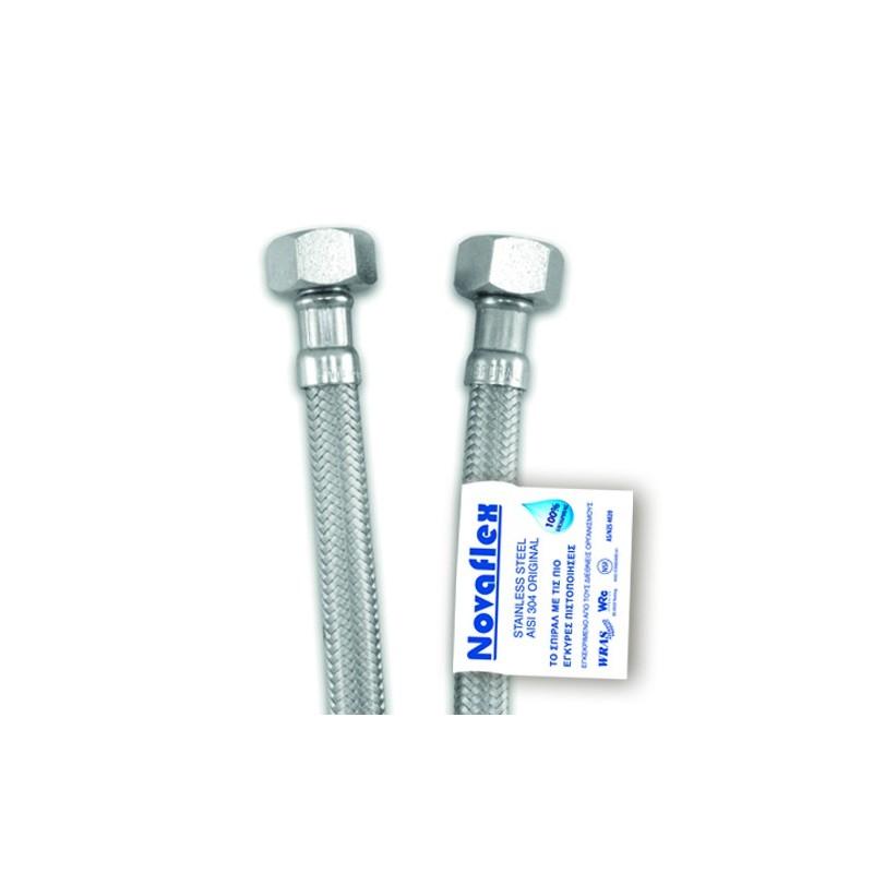 ΣΠΙΡΑΛ INOX NOVAFLEX ΘΗΛΥΚΟ-ΘΗΛΥΚΟ 1/2x1/2 150 cm VIOSPIRAL